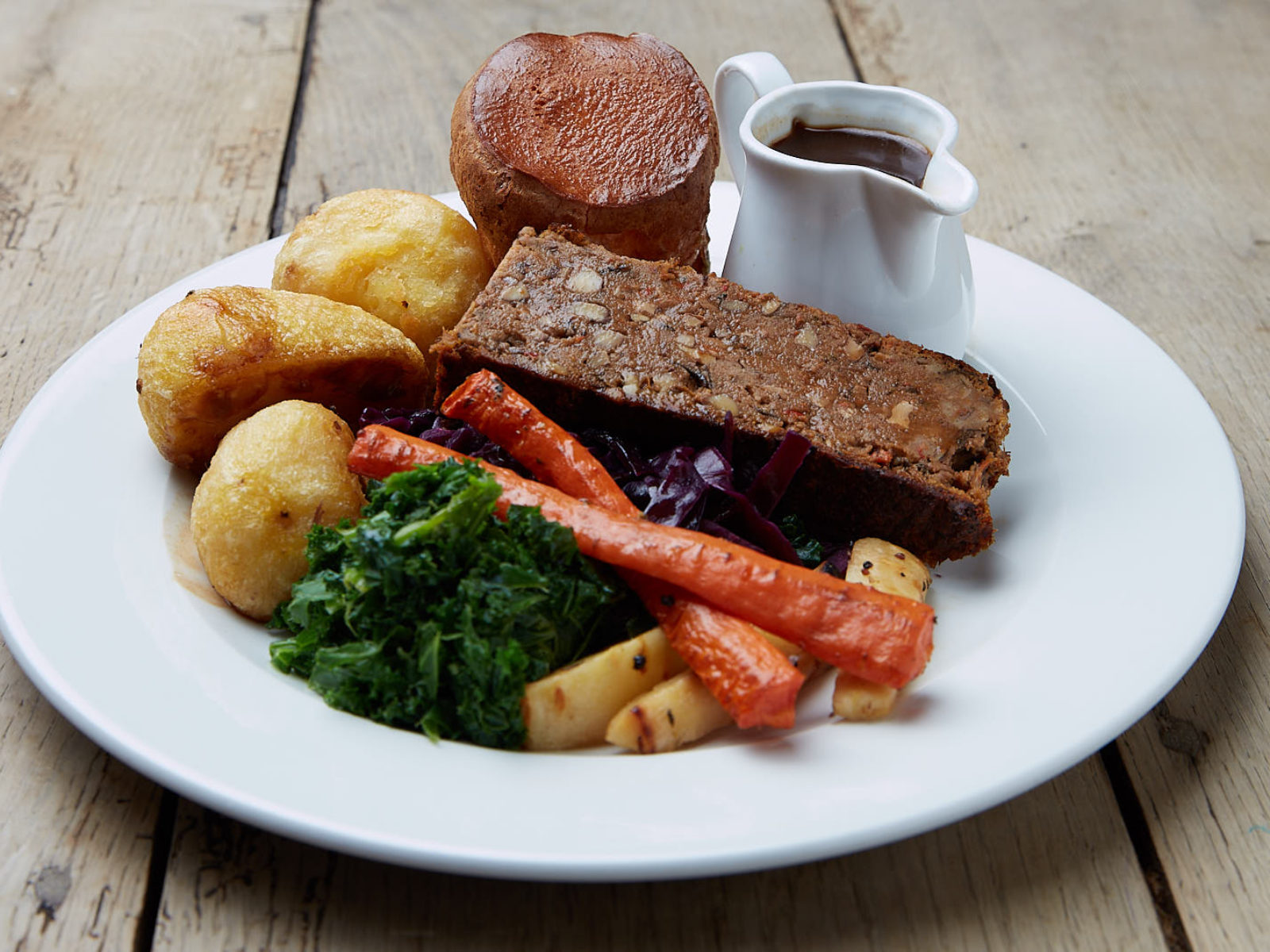 Want a vegetarian roast? Our Nut Roast is just the thing for you.