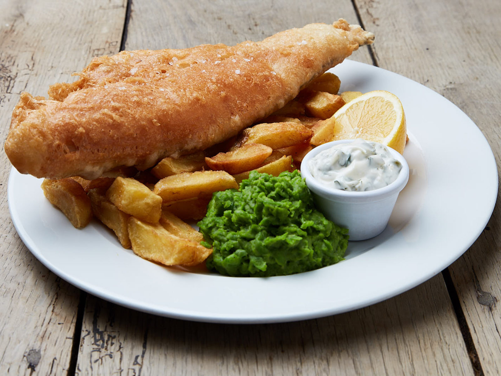 Our fish & chips will fill the biggest stomachs